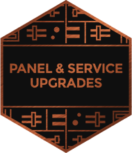 An illustration representing panel and service upgrades
